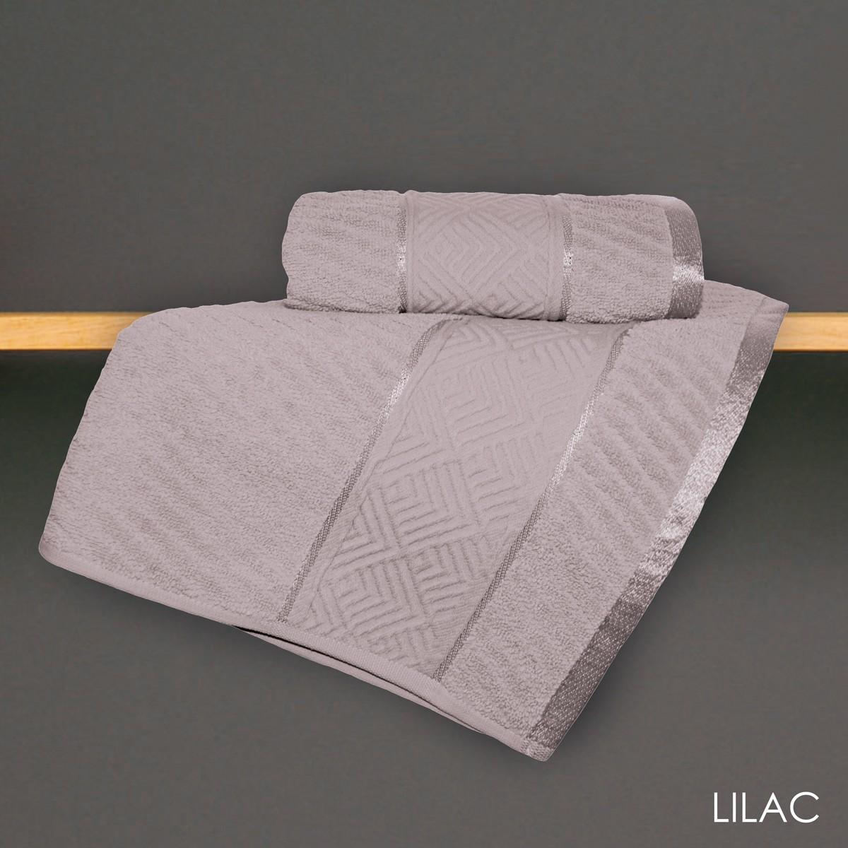 Πετσέτα Προσώπου (50x90) V19.69 Mimoza Lilac