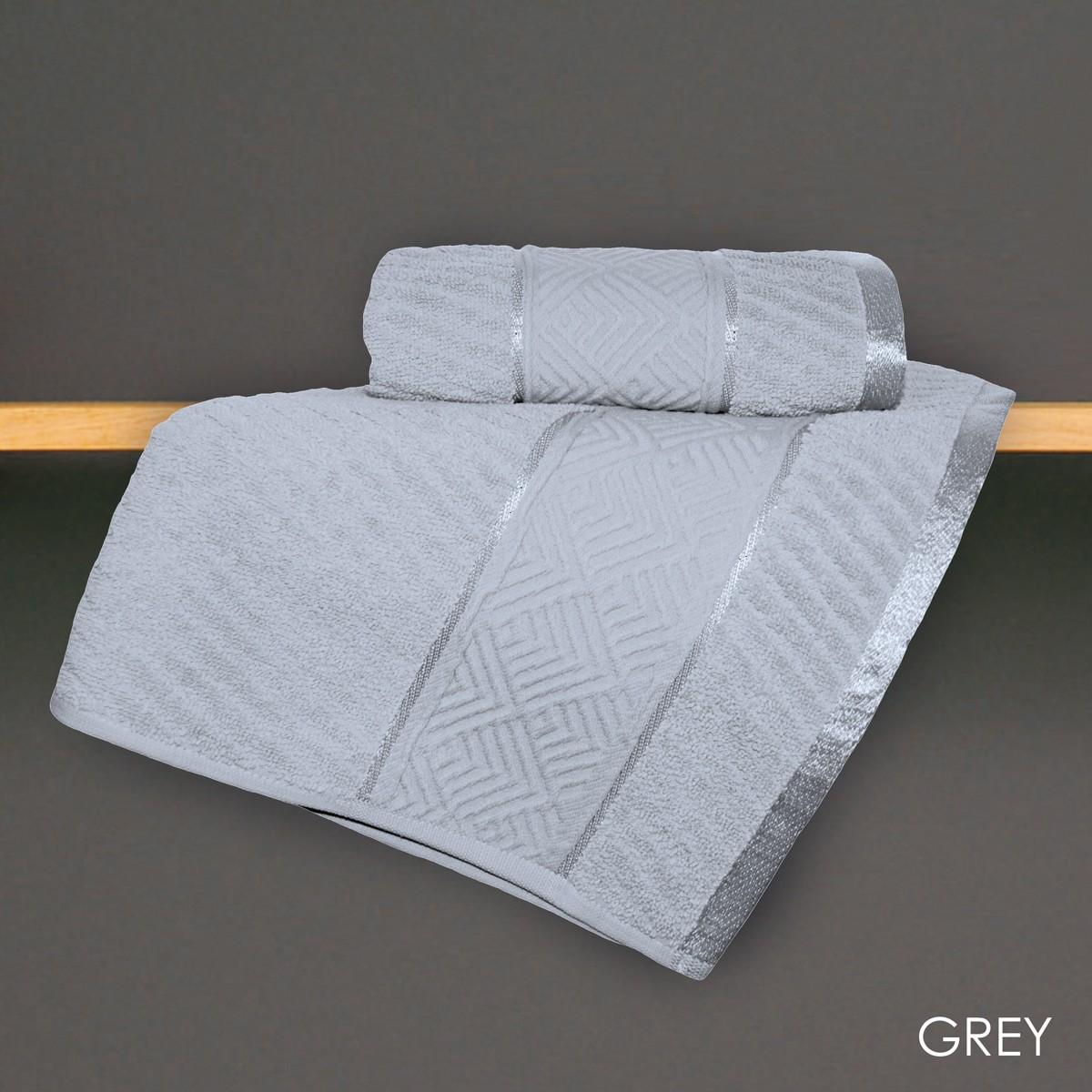 Πετσέτα Σώματος (70x140) V19.69 Mimoza Grey