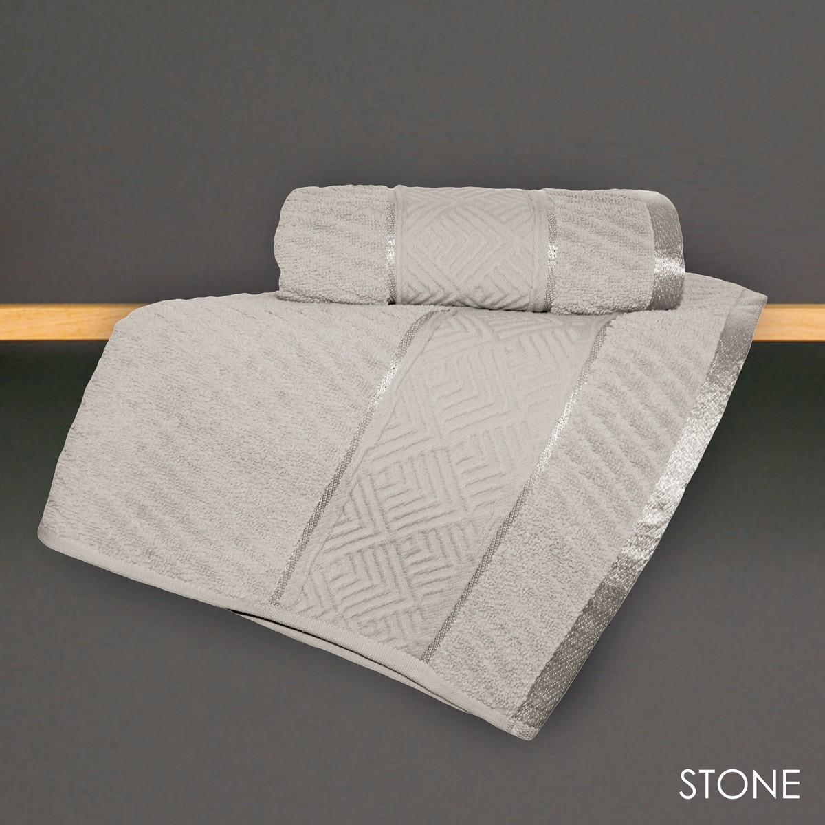Πετσέτα Χεριών (30x50) V19.69 Mimoza Stone