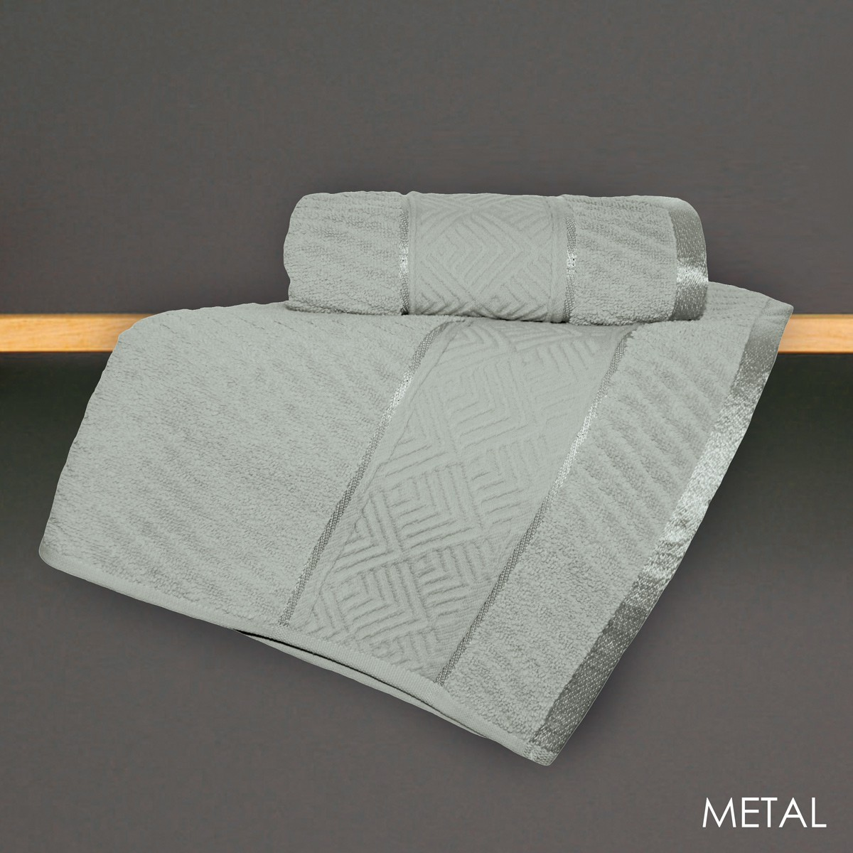 Πετσέτα Χεριών (30x50) V19.69 Mimoza Metal