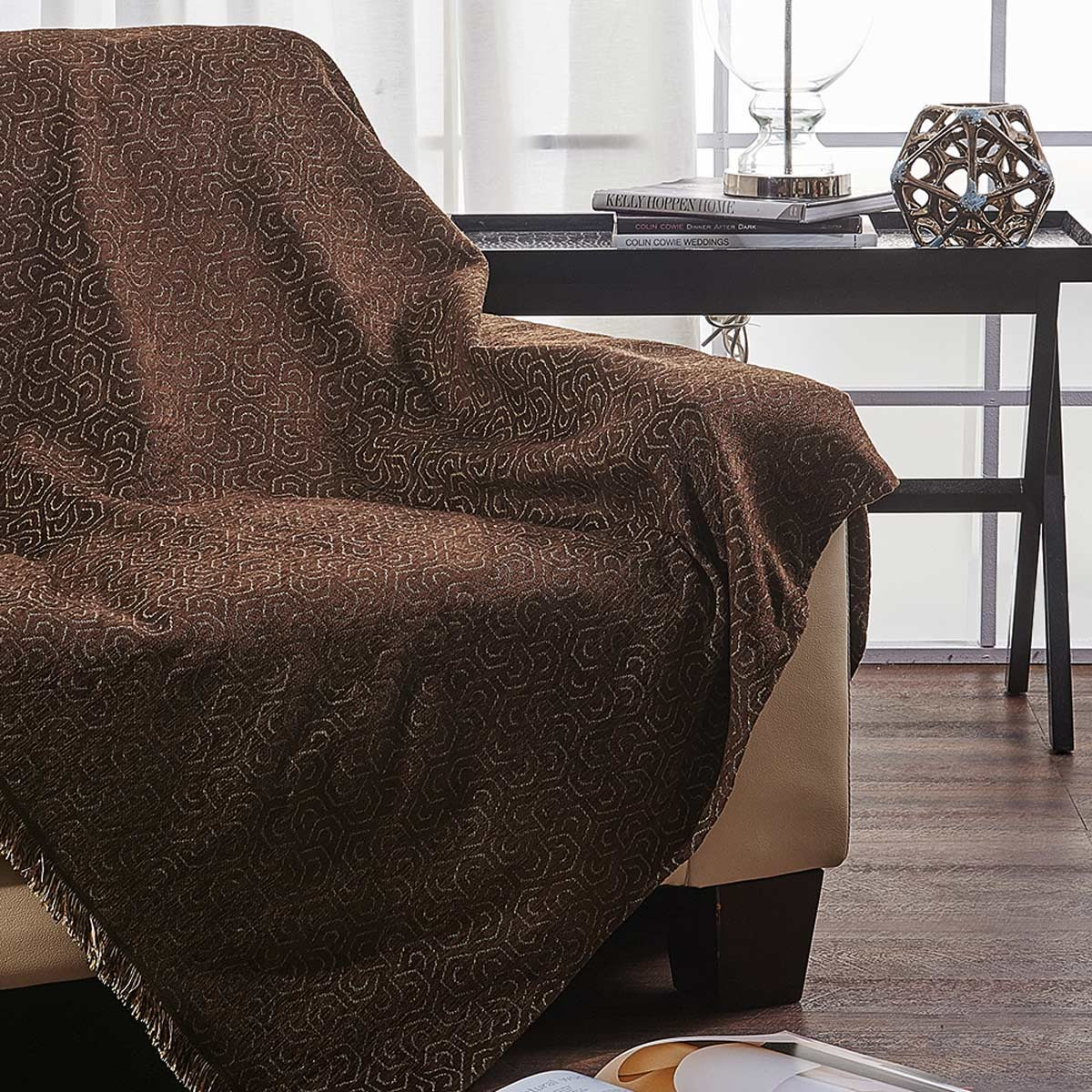 Ριχτάρι Τριθέσιου (180x300) V19.69 Alveare Brown