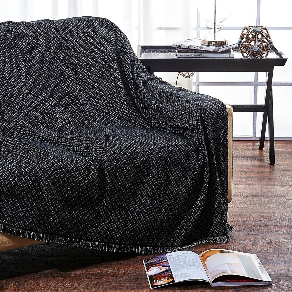 Ριχτάρι Τριθέσιου (180x300) V19.69 Plegma Black