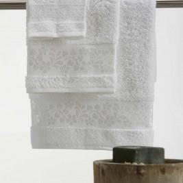 Πετσέτες Μπάνιου (Σετ 3τμχ) White Egg Άνδρος Α White