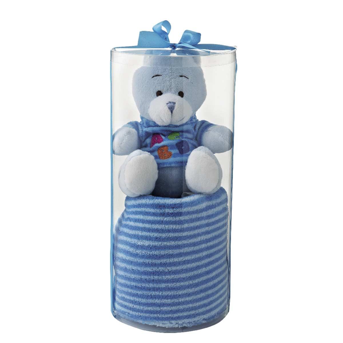 Κουβέρτα Fleece Αγκαλιάς White Egg 2159 Β/Blue home   βρεφικά   κουβέρτες βρεφικές   κουβέρτες fleece