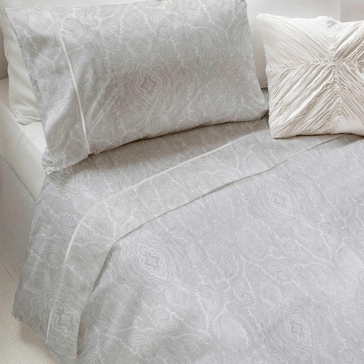 Σεντόνια Υπέρδιπλα (Σετ) Bedwall Satin Oriental Grey