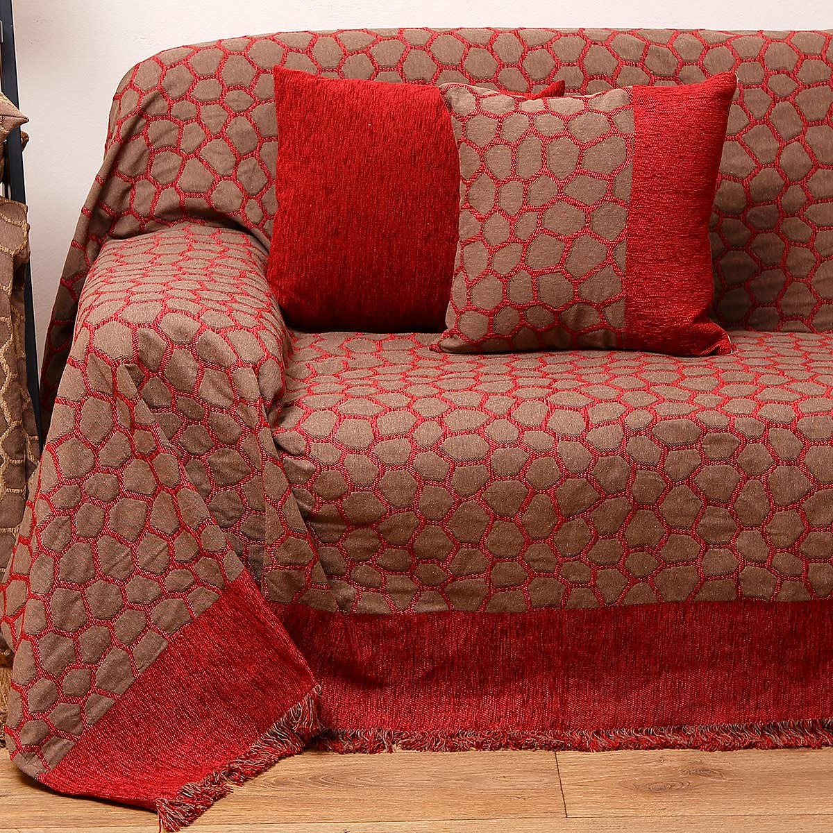 Ριχτάρι Διθέσιου (180x240) Anna Riska 1429 Red