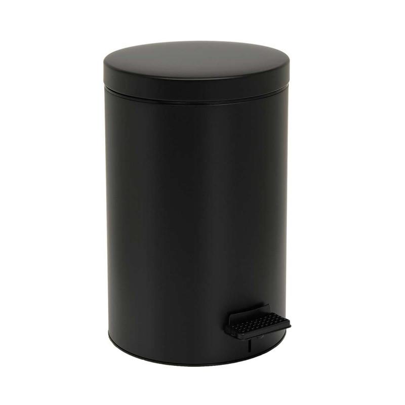 Κάδος Απορριμμάτων (25x40) Pam & Co 12Lit 90 Black Matte