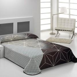 Κουβέρτα Βελουτέ Υπέρδιπλη Morven Nova Linea B44 Grey
