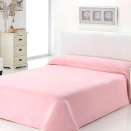 Κουβέρτα Βελουτέ Υπέρδιπλη Morven Dolce B93/04 Pink