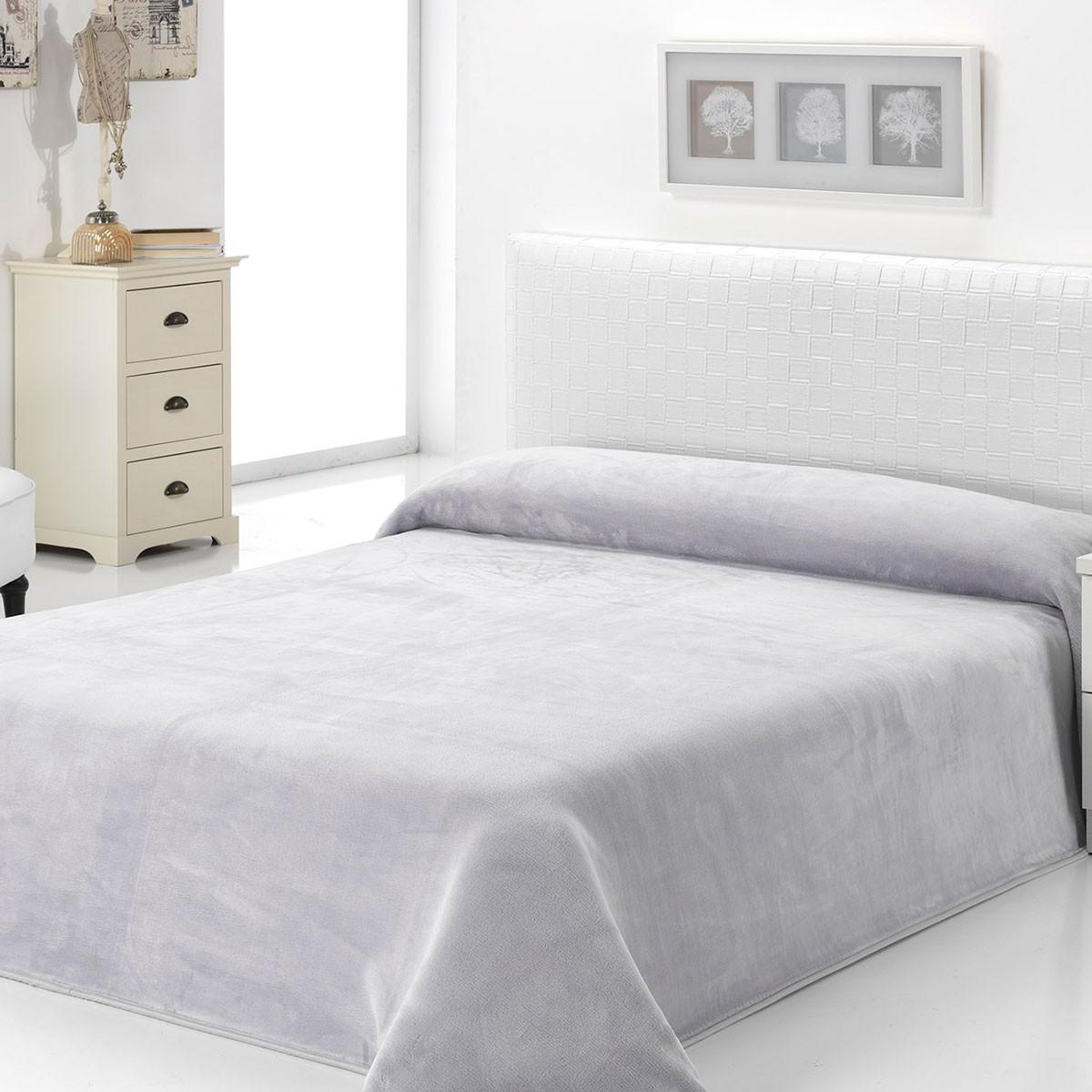 Κουβέρτα Βελουτέ Υπέρδιπλη Morven Dolce B93/16 Grey