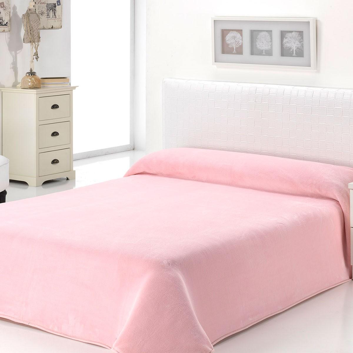 Κουβέρτα Βελουτέ Μονή Morven Dolce B93/04 Pink