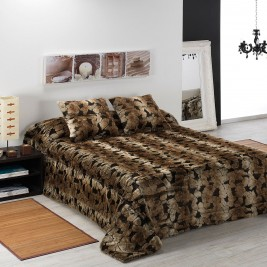 Κουβέρτα Γούνινη Υπέρδιπλη Morven Giraffe B58