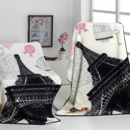 Κουβέρτα Καναπέ Βελουτέ Morven Premium Plaid A80