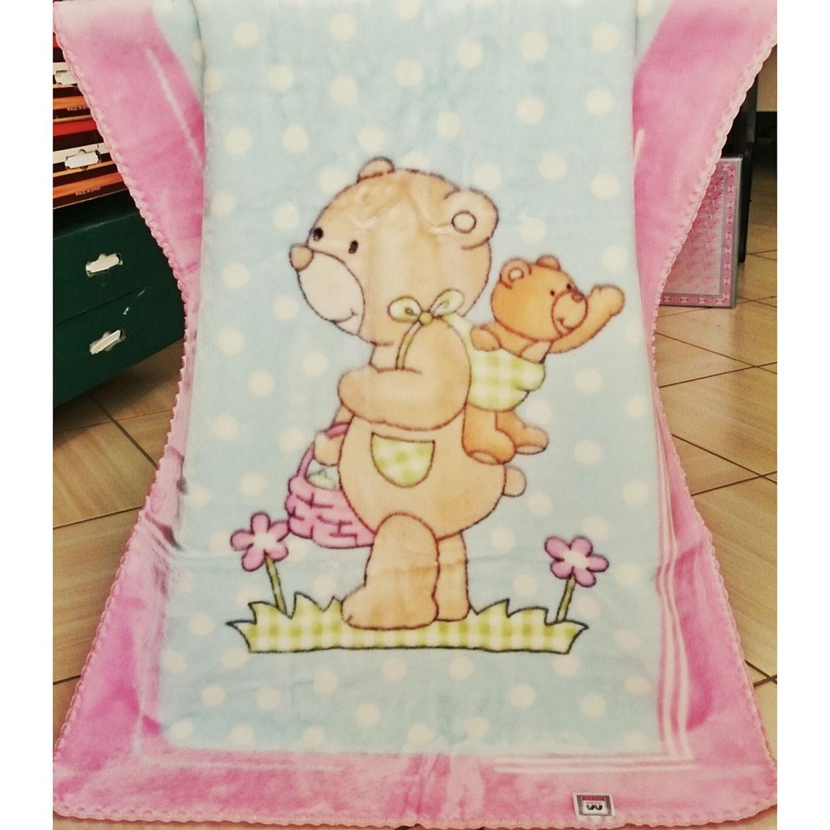 Κουβέρτα Βελουτέ Αγκαλιάς Morven Piccola 402 Pink