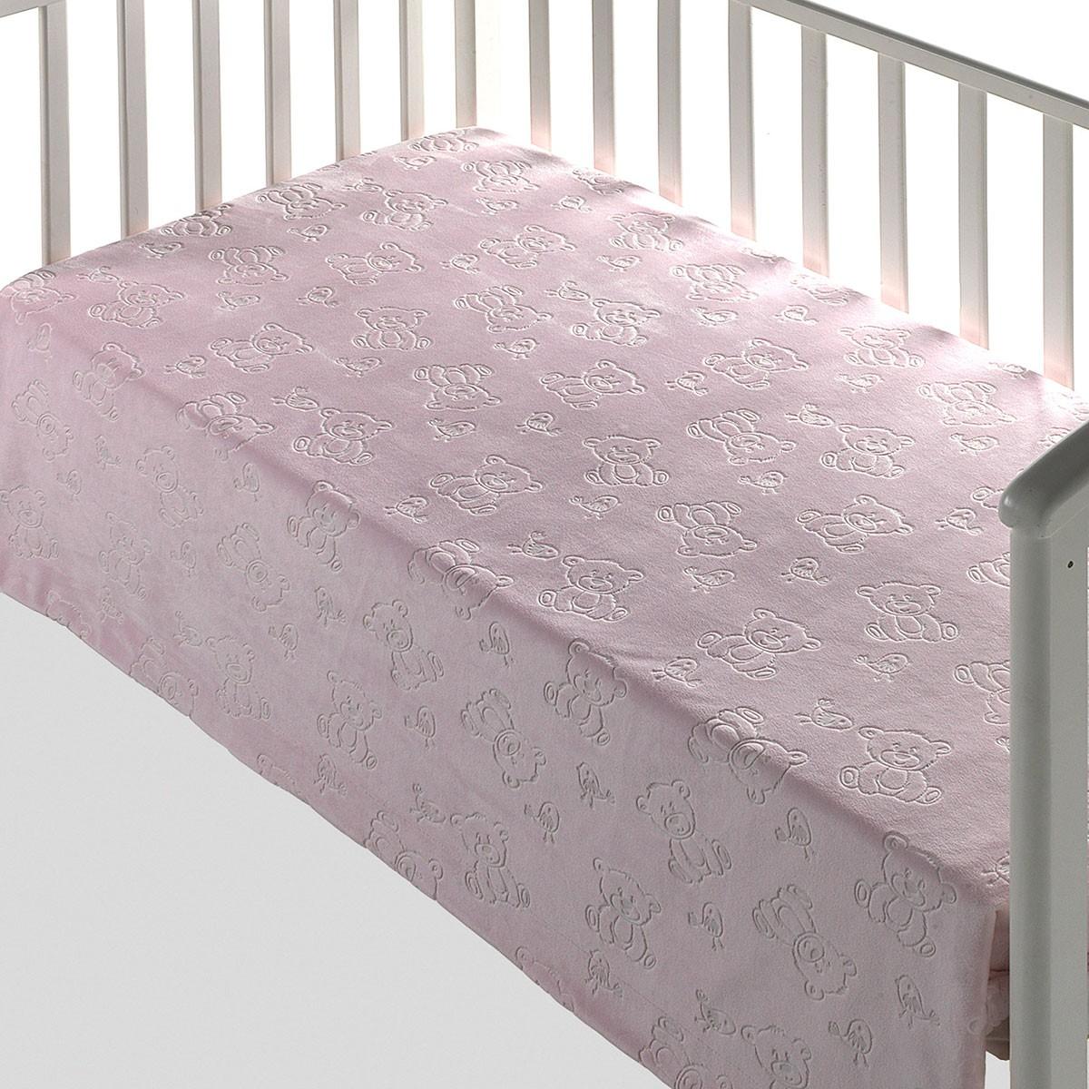 Κουβέρτα Βελουτέ Αγκαλιάς Με Γουνάκι Morven Tacata 207 Pink