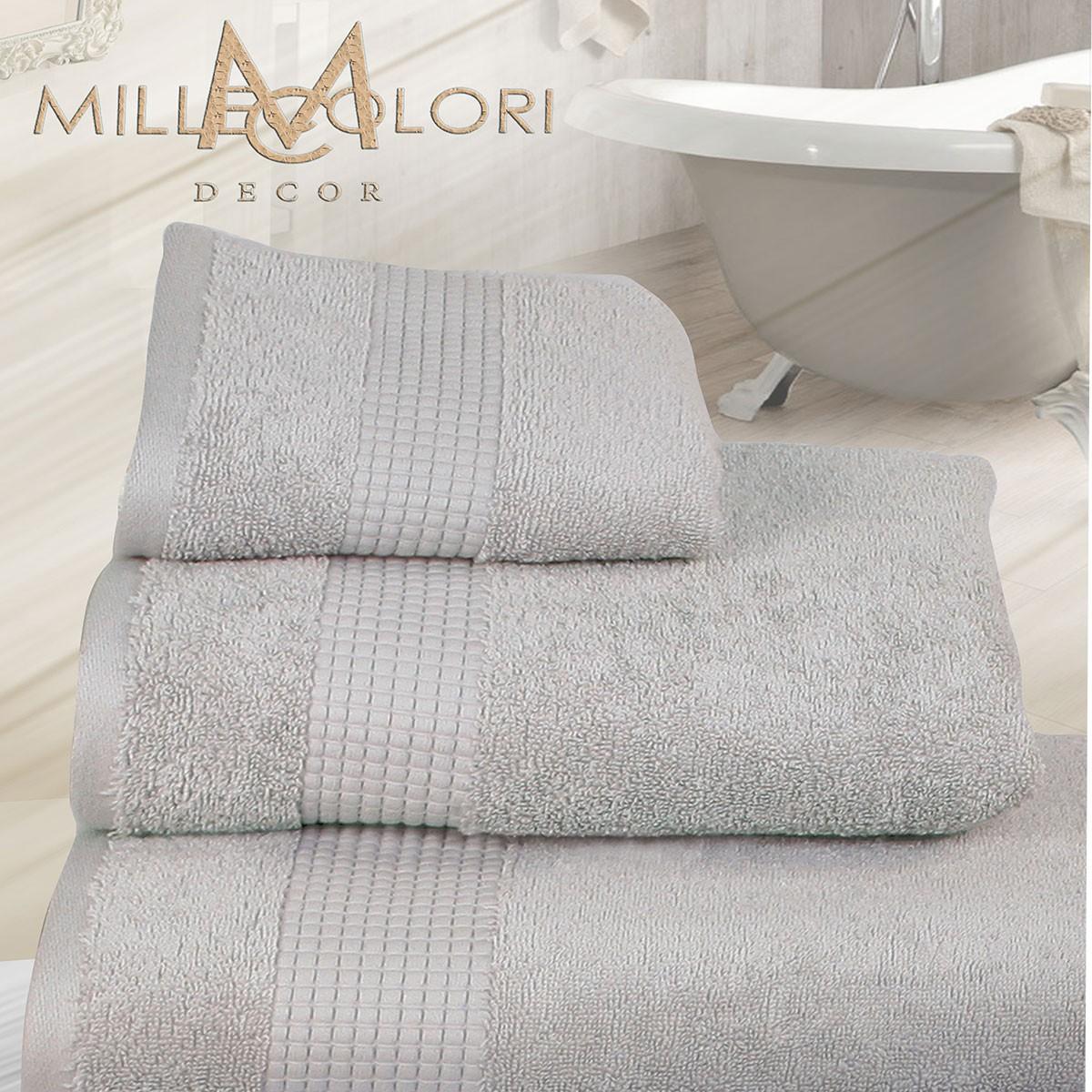 Πετσέτα Προσώπου (50x90) Mc Decor Extra Soft Grey