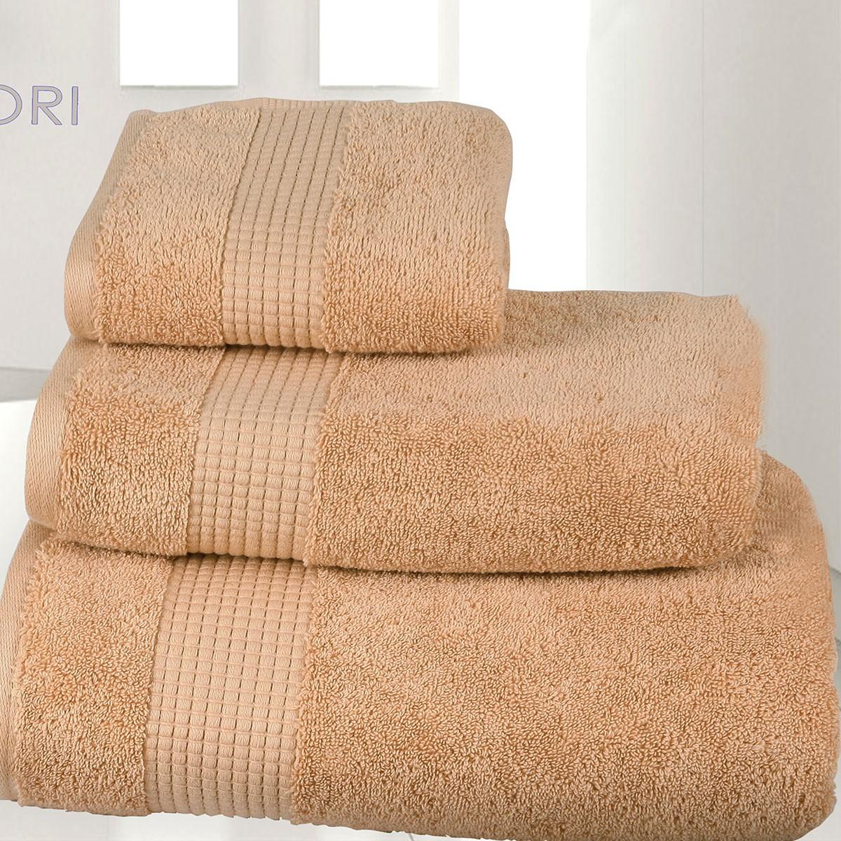 Πετσέτα Προσώπου (50x90) Mc Decor Extra Soft Wheat