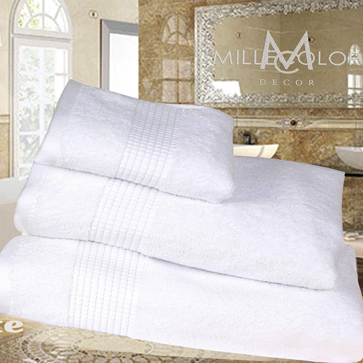 Πετσέτα Προσώπου (50x90) Mc Decor Extra Soft White