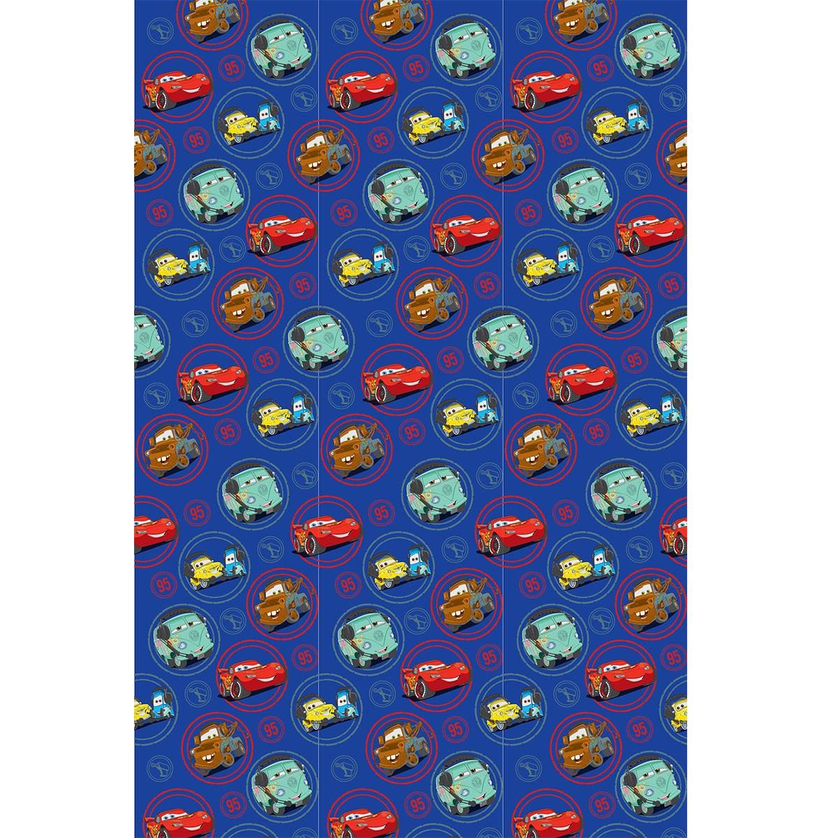 Παιδική Κουρτίνα (140×290) Disney Cars CA102 Blue