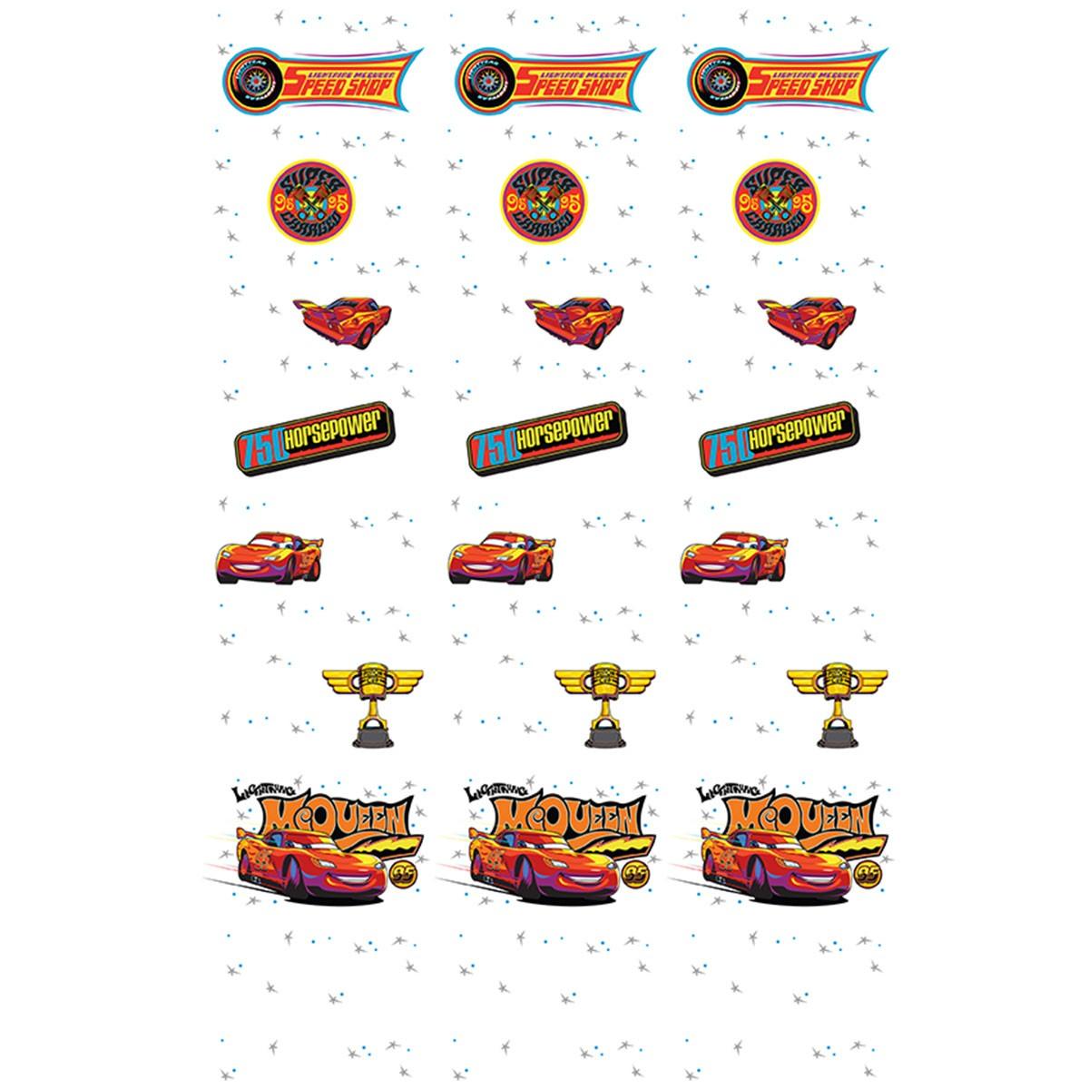 Παιδική Κουρτίνα (140x290) Disney Cars CA113 White