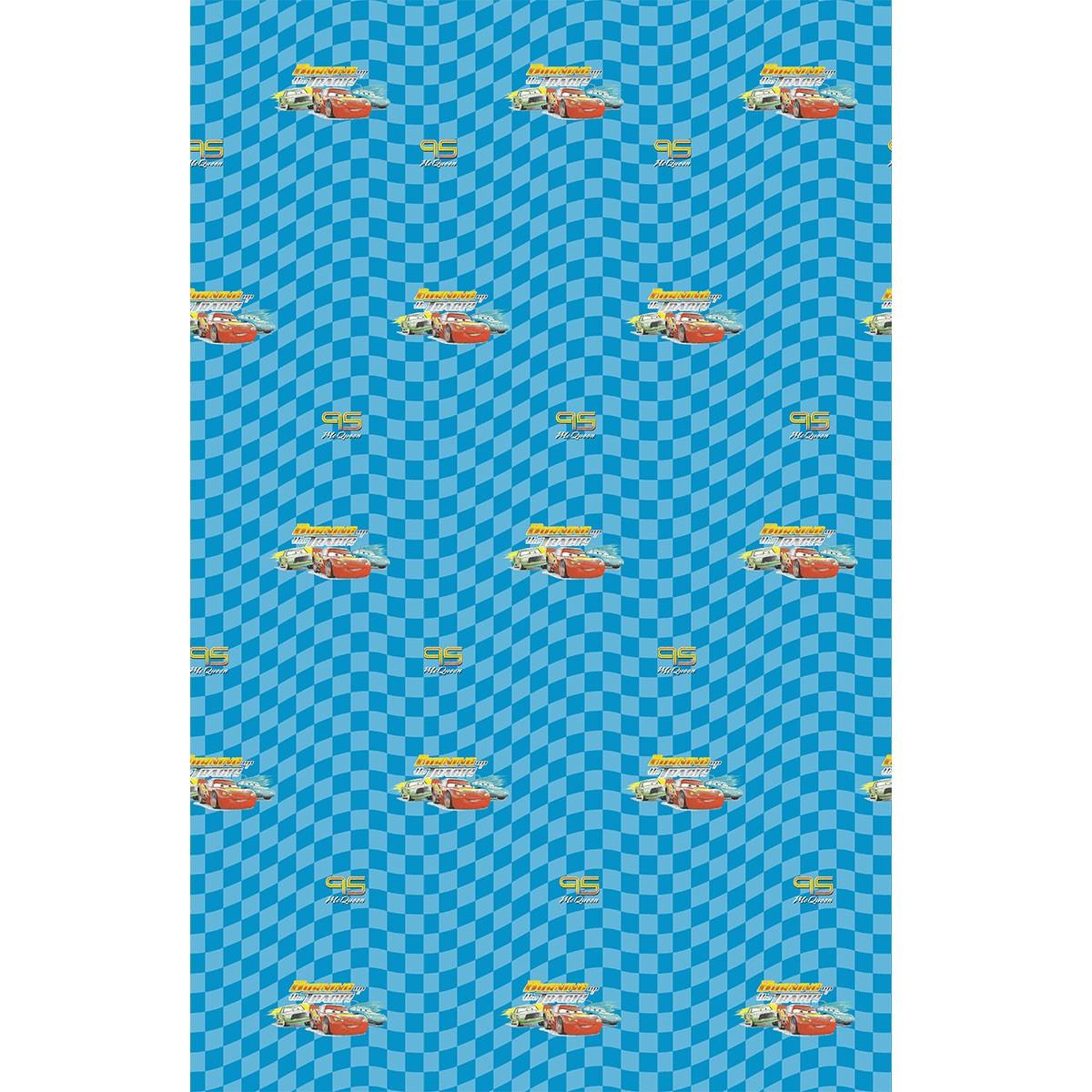 Παιδική Κουρτίνα (140×290) Disney Cars CA139 Turquoise