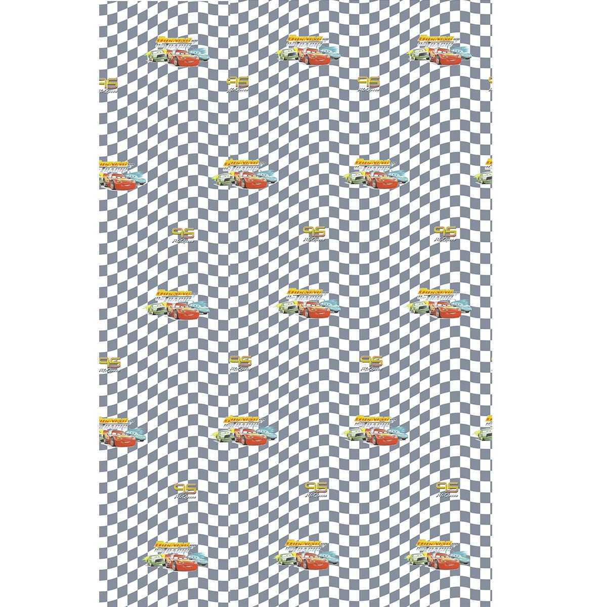 Παιδική Κουρτίνα (140×290) Disney Cars CA139 Grey
