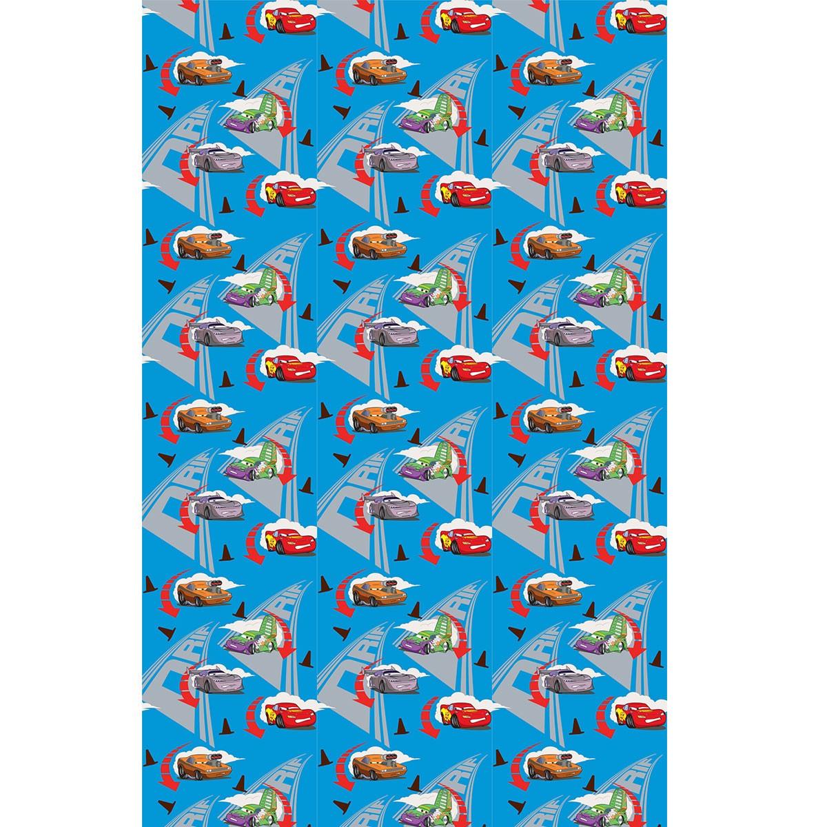 Παιδική Κουρτίνα (140×290) Disney Cars CA185 Blue
