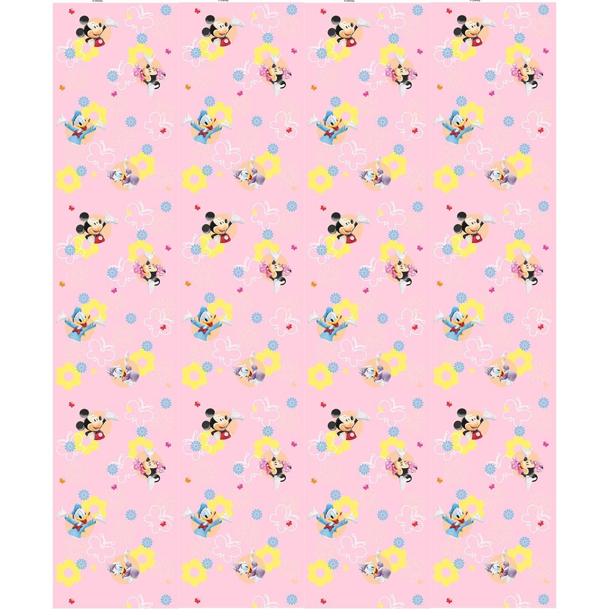 Παιδική Κουρτίνα (140×290) Disney Club House CH167 Pink