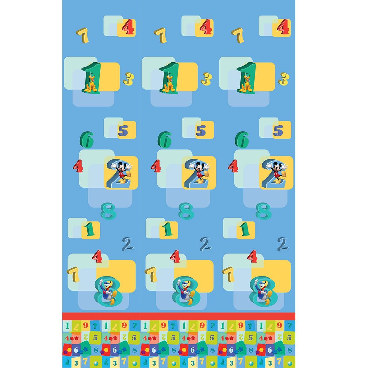 Παιδική Κουρτίνα (140x290) Με Τρέσα Disney ClubHouse CH186 Blue home   κουρτίνες   κουρτίνες παιδικές