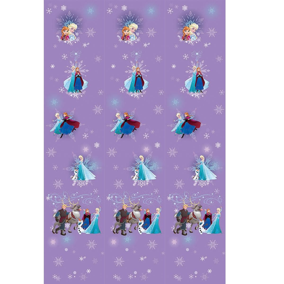 Παιδική Κουρτίνα (140×290) Disney Frozen FR003 Purple