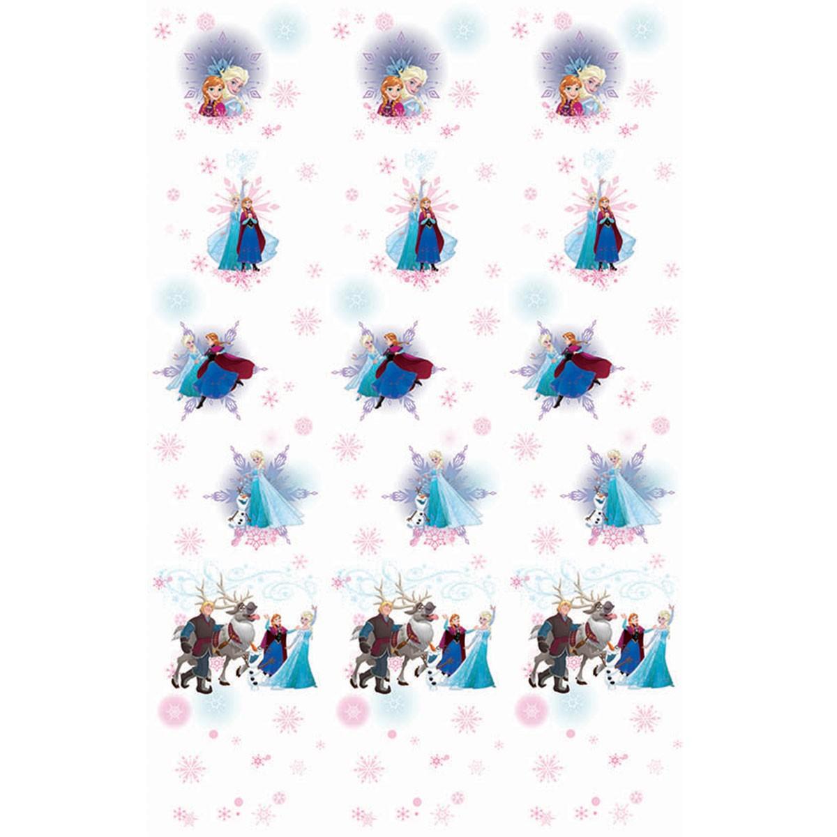 Παιδική Κουρτίνα (140×290) Disney Frozen FR003 White