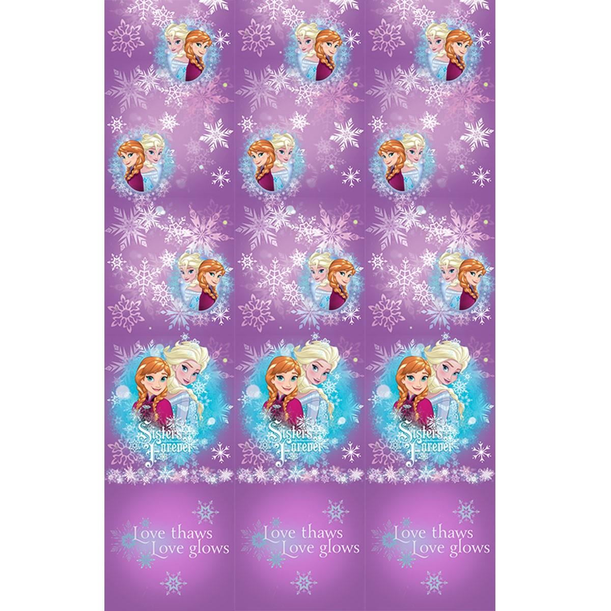 Παιδική Κουρτίνα (140×290) Disney Frozen FR004 Purple