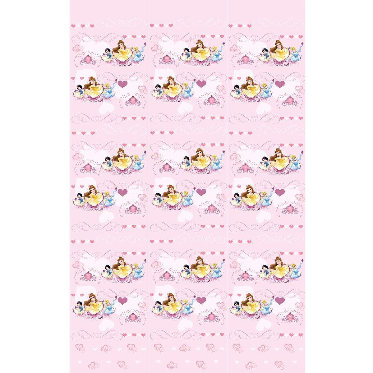 Παιδική Κουρτίνα (140×290) Disney Princess PR012 Pink
