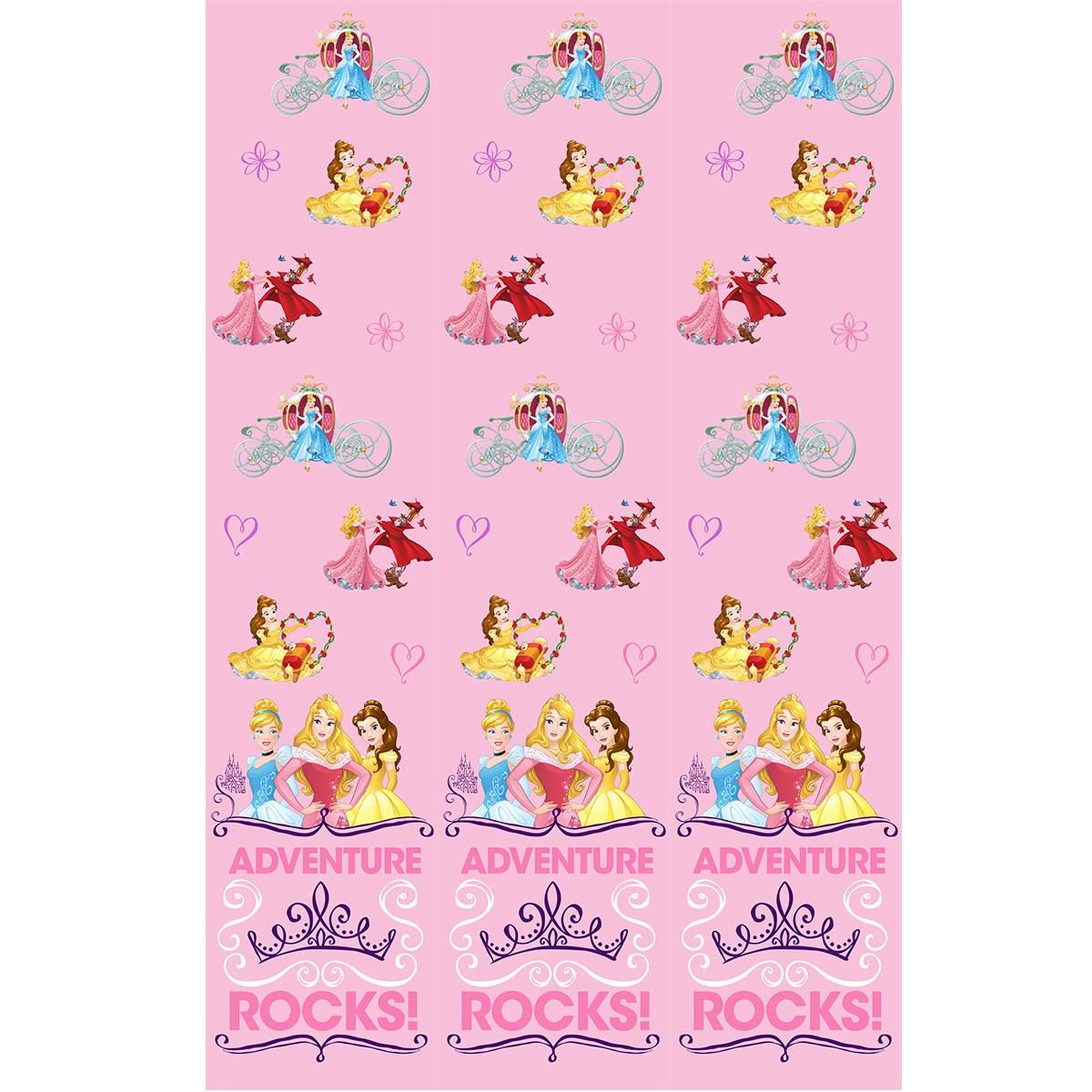 Παιδική Κουρτίνα (140×290) Disney Princess PR022 Pink