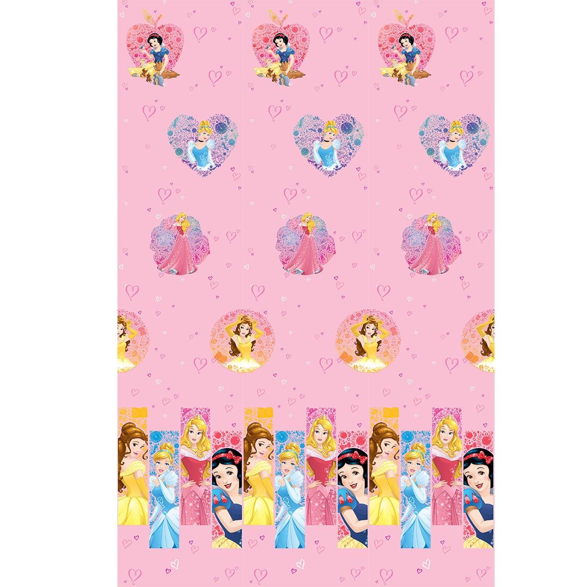 Παιδική Κουρτίνα (140×290) Disney Princess PR023 Pink