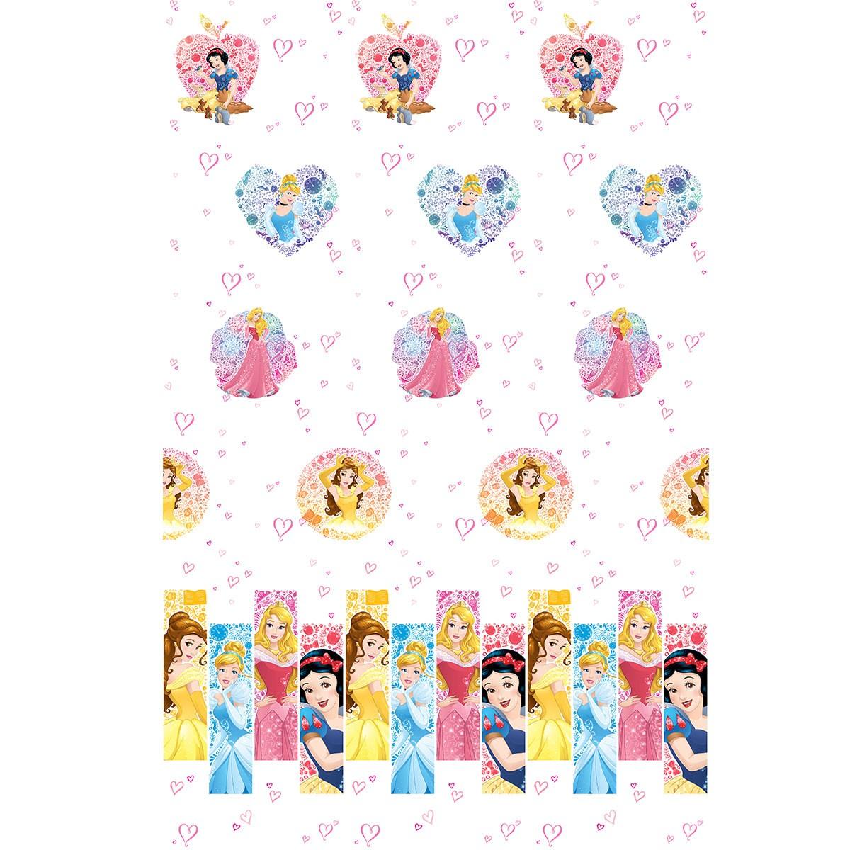 Παιδική Κουρτίνα (140x290) Disney Princess PR023 White