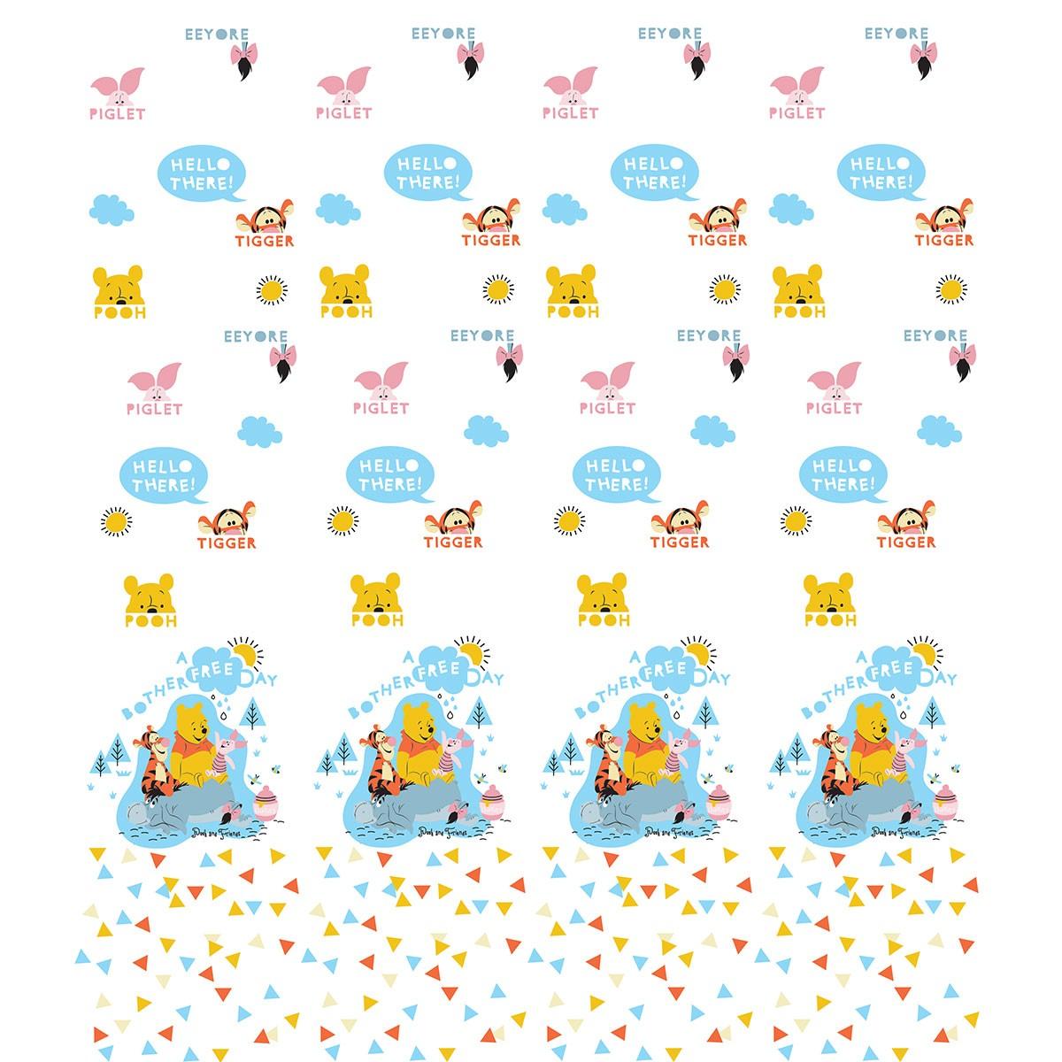 Παιδική Κουρτίνα (140x290) Disney Winnie WP018 White