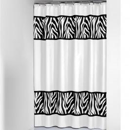 Κουρτίνα Μπάνιου (180x200) SealSkin Safari Black