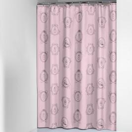 Κουρτίνα Μπάνιου (180x200) SealSkin Romance Rose