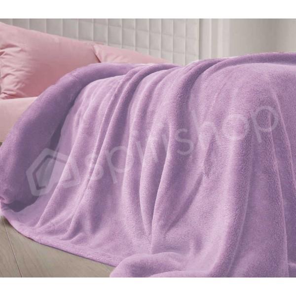 Κουβέρτα Fleece Μονή Nef-Nef Planet Lilac