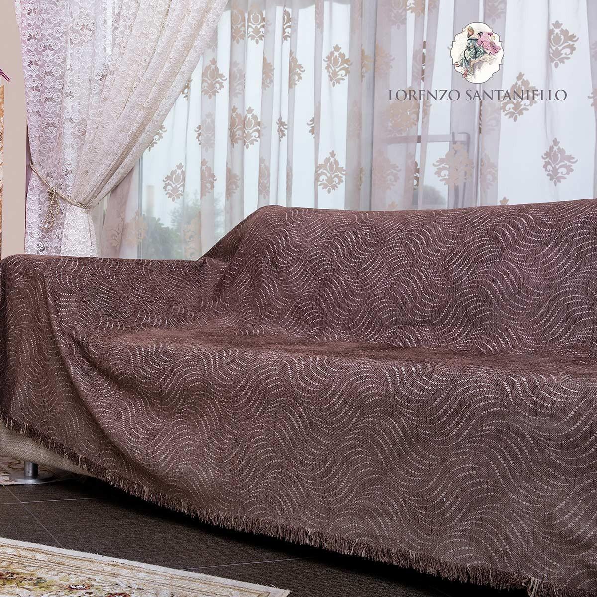 Διακοσμητική Μαξιλαροθήκη Lorenzo Santaniello Vueltas Brown