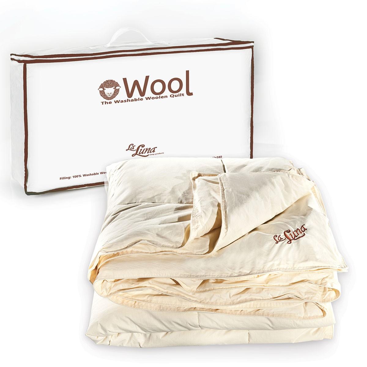 Πάπλωμα Μάλλινο Υπέρδιπλο La Luna Wool Quilt home   κρεβατοκάμαρα   παπλώματα   παπλώματα μάλλινα