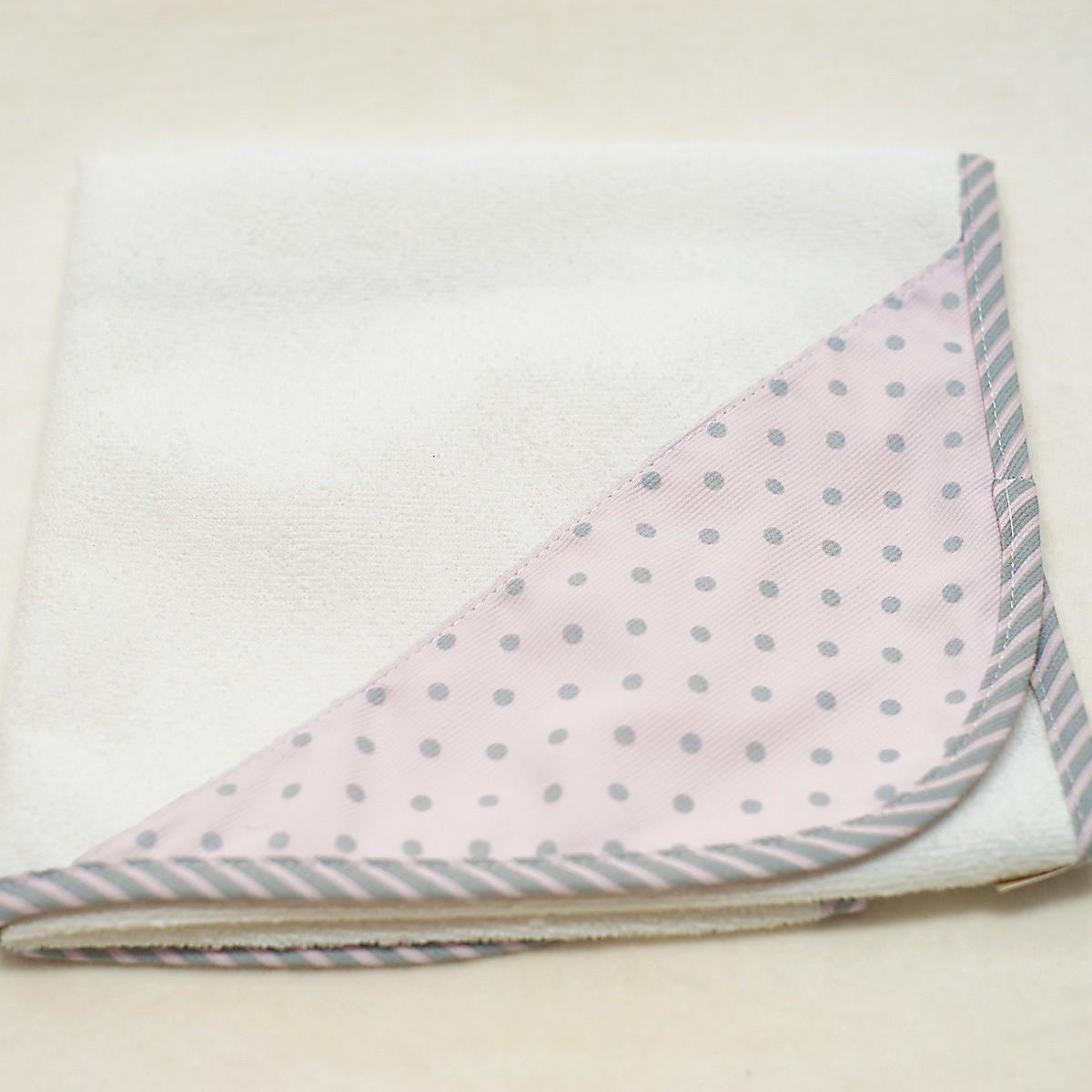 Βρεφικό Σελτεδάκι (40×60) Ninna Nanna Ροζ Γκρι