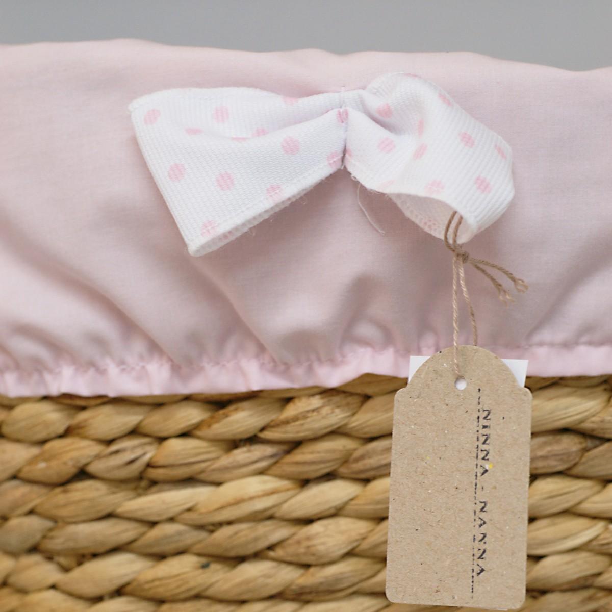 371fff0f442 Καλαθάκι Καλλυντικών Ninna Nanna Ροζ Πουά. Πατήστε για μεγέθυνση