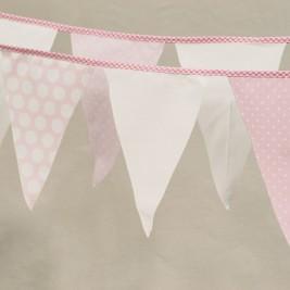 Διακοσμητικά Σημαιάκια Ninna Nanna Ροζ Πουά