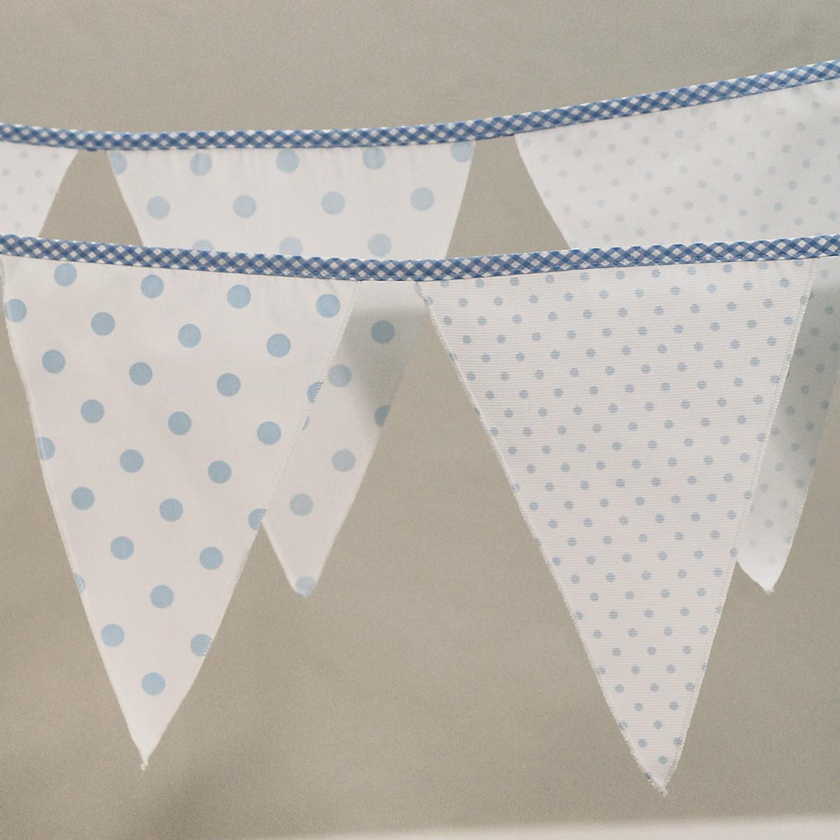 Διακοσμητικά Σημαιάκια Ninna Nanna Σιέλ Πουά home   βρεφικά   βρεφική διακόσμηση