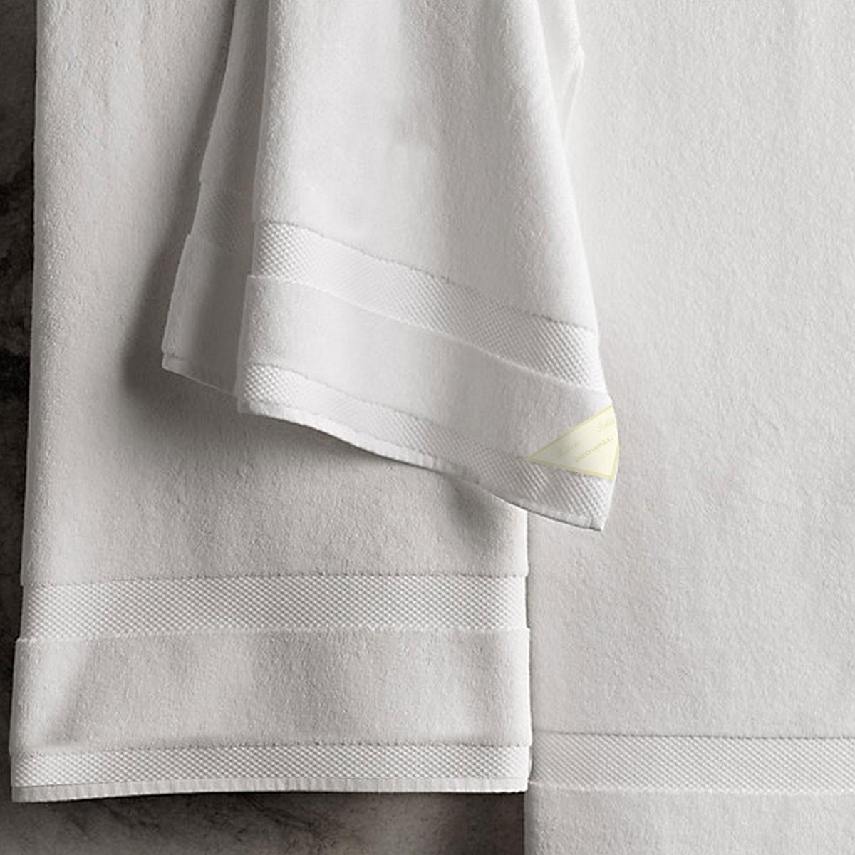 Πετσέτες Μπάνιου (Σετ 3τμχ) Bedwall Super Soft White