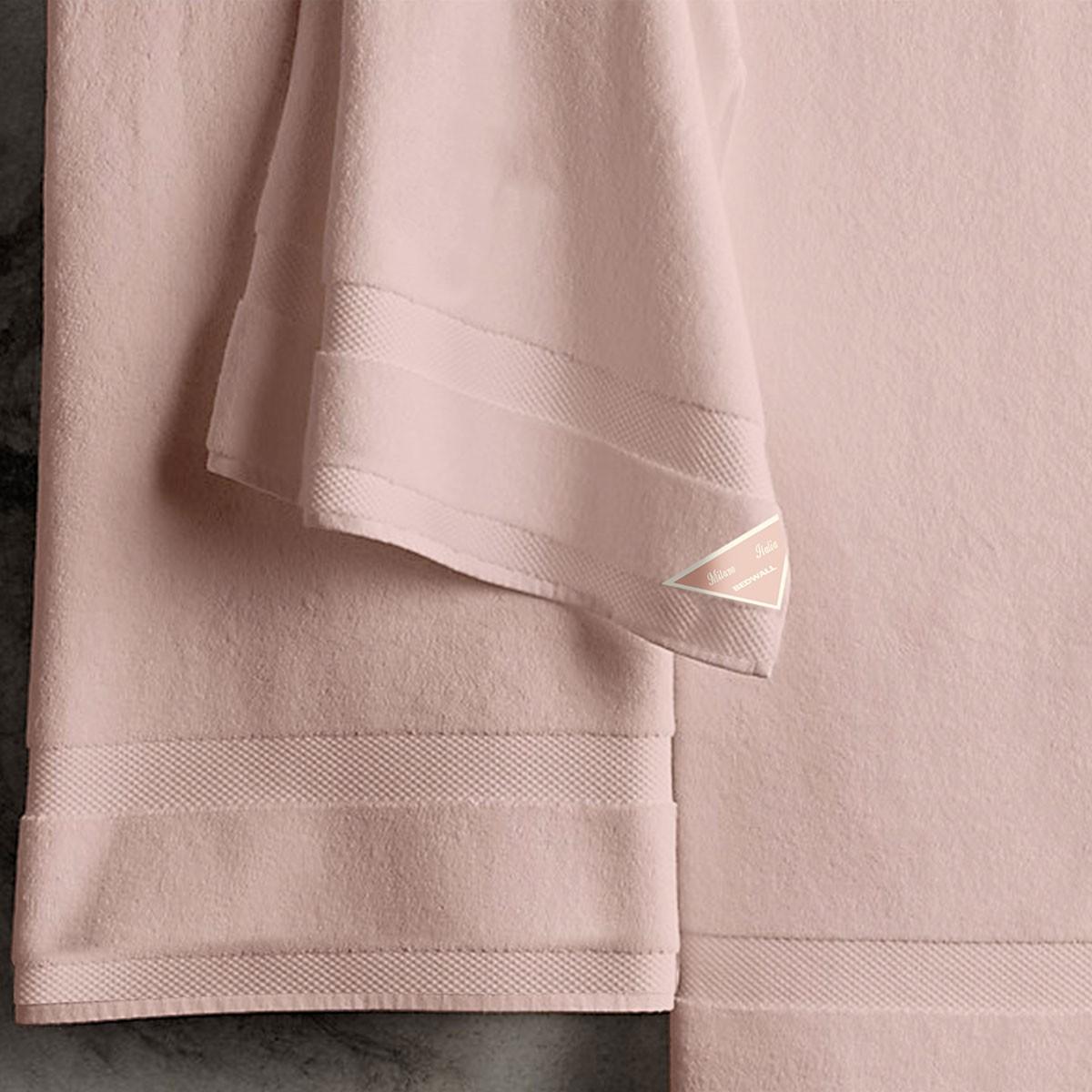 Πετσέτες Μπάνιου (Σετ 3τμχ) Bedwall Super Soft Dusty Pink