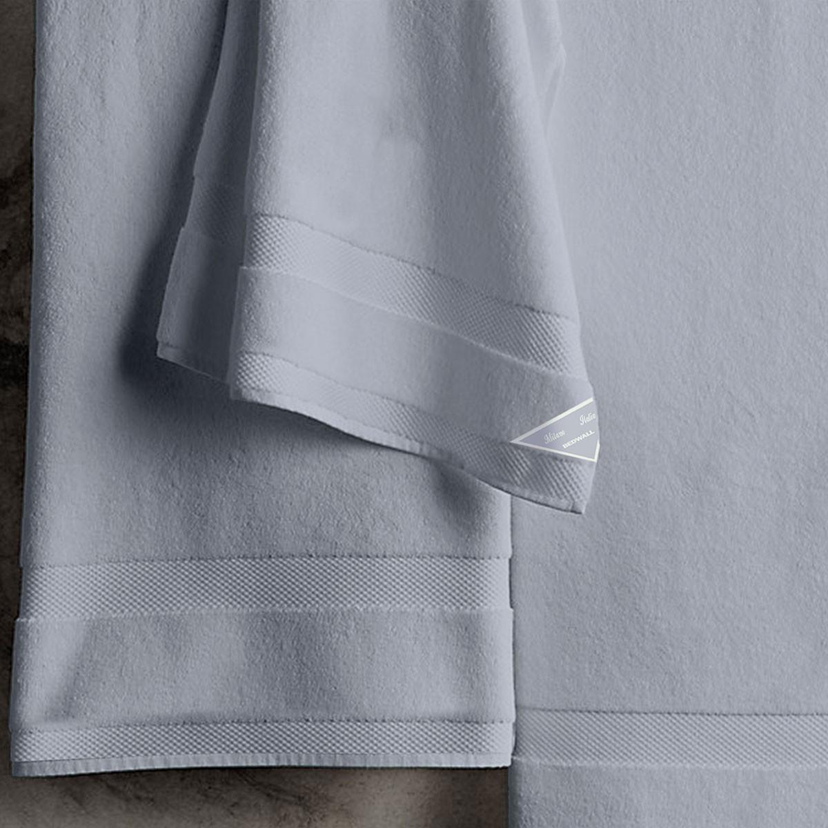 Πετσέτες Μπάνιου (Σετ 3τμχ) Bedwall Super Soft Dusty Blue