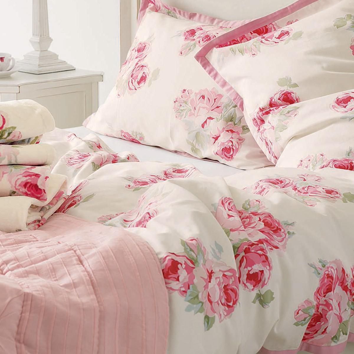 Σεντόνια Υπέρδιπλα (Σετ) Laura Ashley Couture Rose home   κρεβατοκάμαρα   σεντόνια   σεντόνια υπέρδιπλα